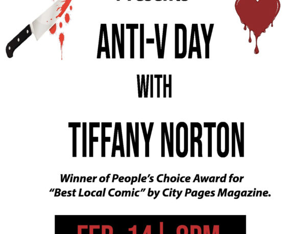 poster for anti-valentine's day