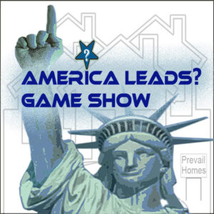 Logo for America First! Game Show