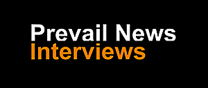logo for Prevail News Interviews